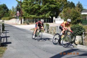 UCC Vivonne RESULTATS-2019-09-15_ROUTE-Titouan GOURDEAU 2ème Selles-sur-Cher