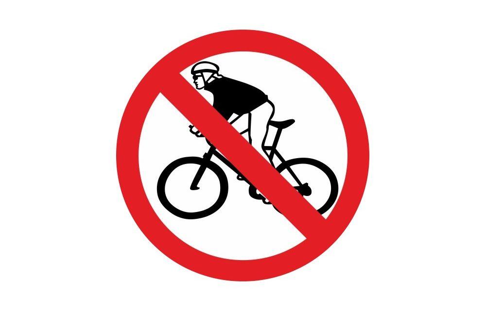 UCC Vivonne confinement stop cyclisme
