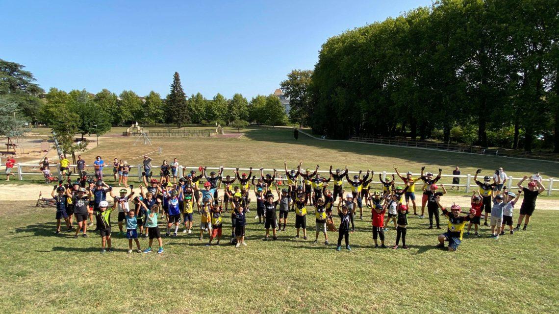 UCC Vivonne record école de vélo