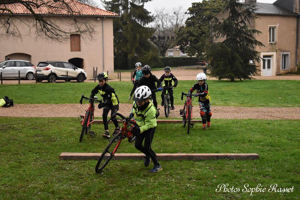 UCC Vivonne école cyclocross