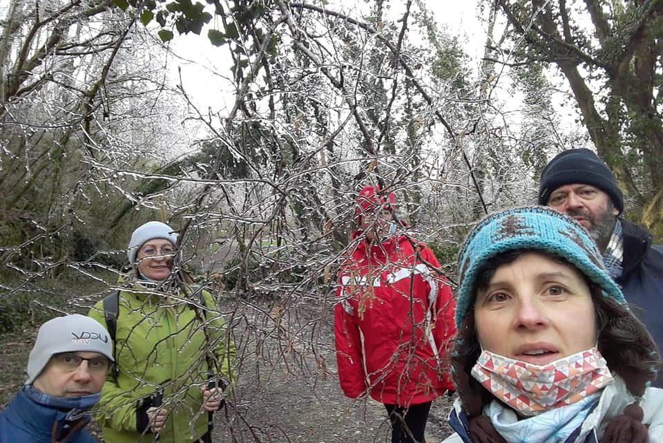 UCC Vivonne Balade hivernale en marchant