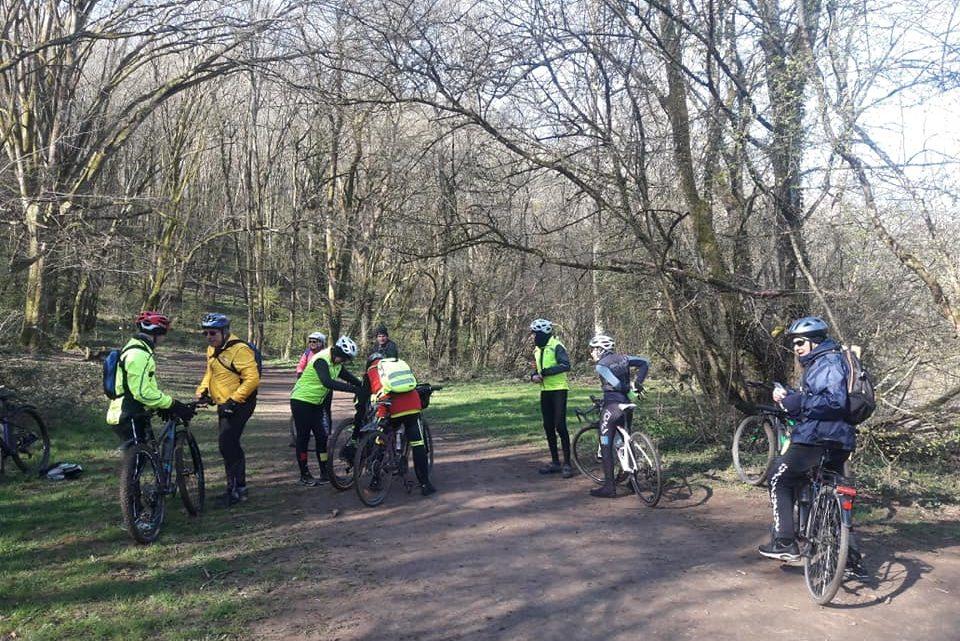 Balade à vélo à Ligugé Faravelle UCC Vivonne