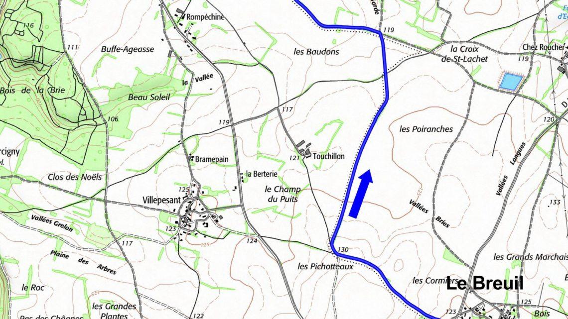 Balade vélo 20 Vivonne Vallées du Clain UCC Vivonne