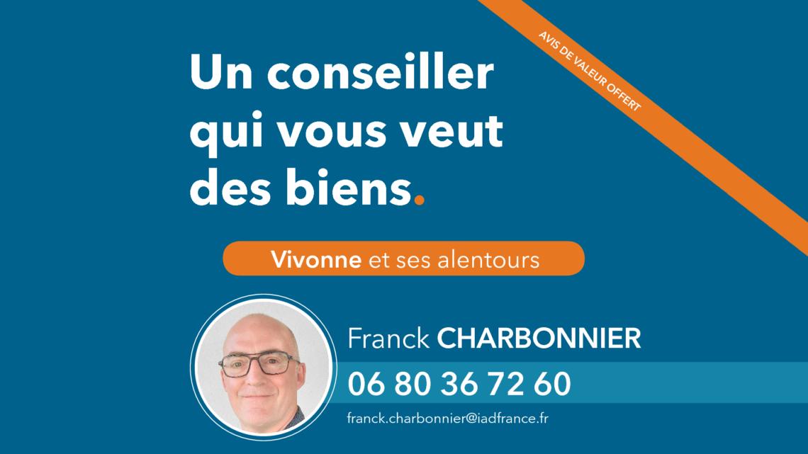 IAD Franck CHARBONNIER partenaire UCC Vivonne