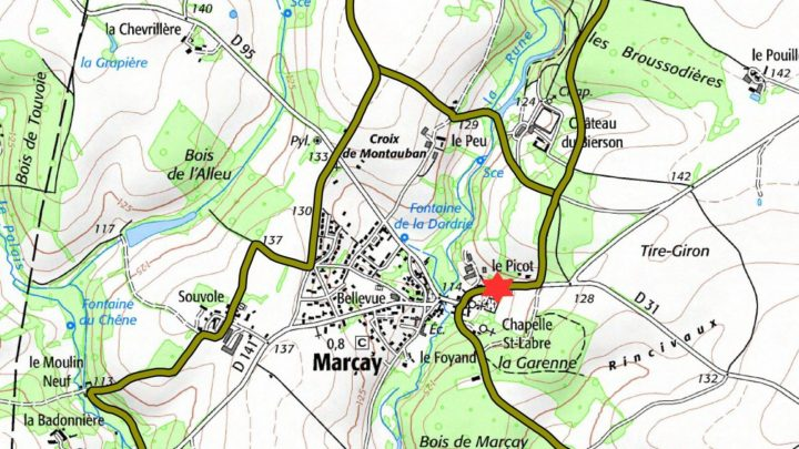 Balade vélo 15 Marçay Vallées du Clain UCC Vivonne