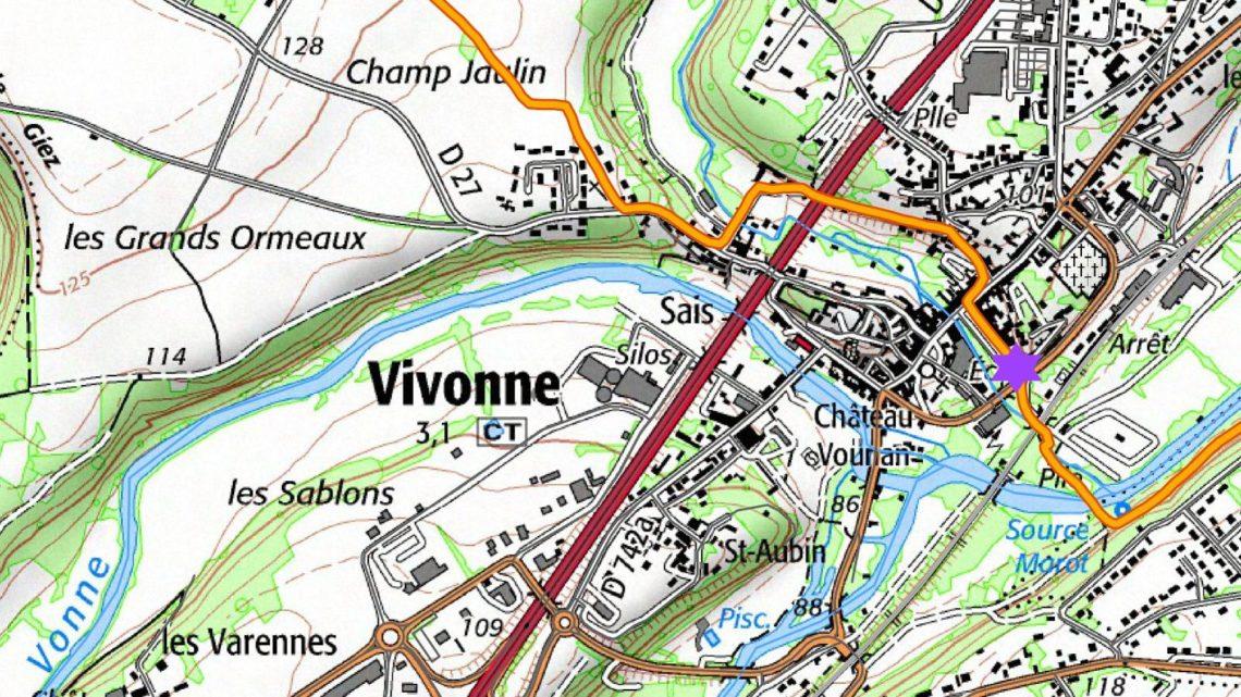 Balade vélo 19 Vivonne Vallées du Clain UCC Vivonne