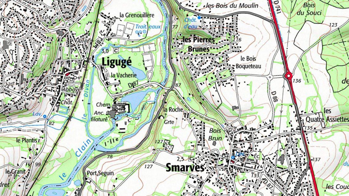 Balade vélo 4 Smarves Vallées du Clain UCC Vivonne