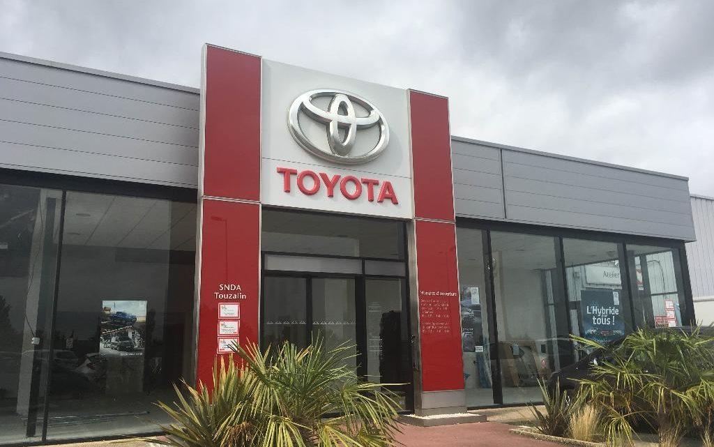 Toyota SNDA Touzalin Partenaire UCC Vivonne