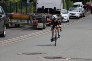 Première course Jeunes Route UCC Vivonne