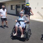Sortie vélo EHPAD Les Tilleuls UCC Vivonne
