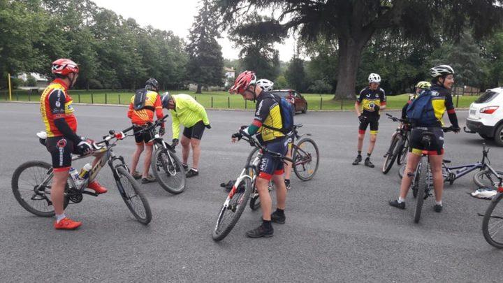 Balade à vélo UCC Vivonne 10 juillet 2021