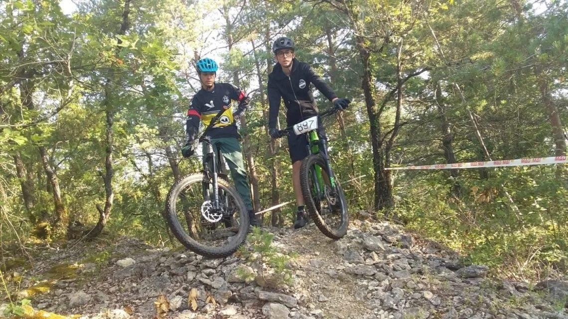 Léo et Maxime en Dordogne VTT UCC Vivonne
