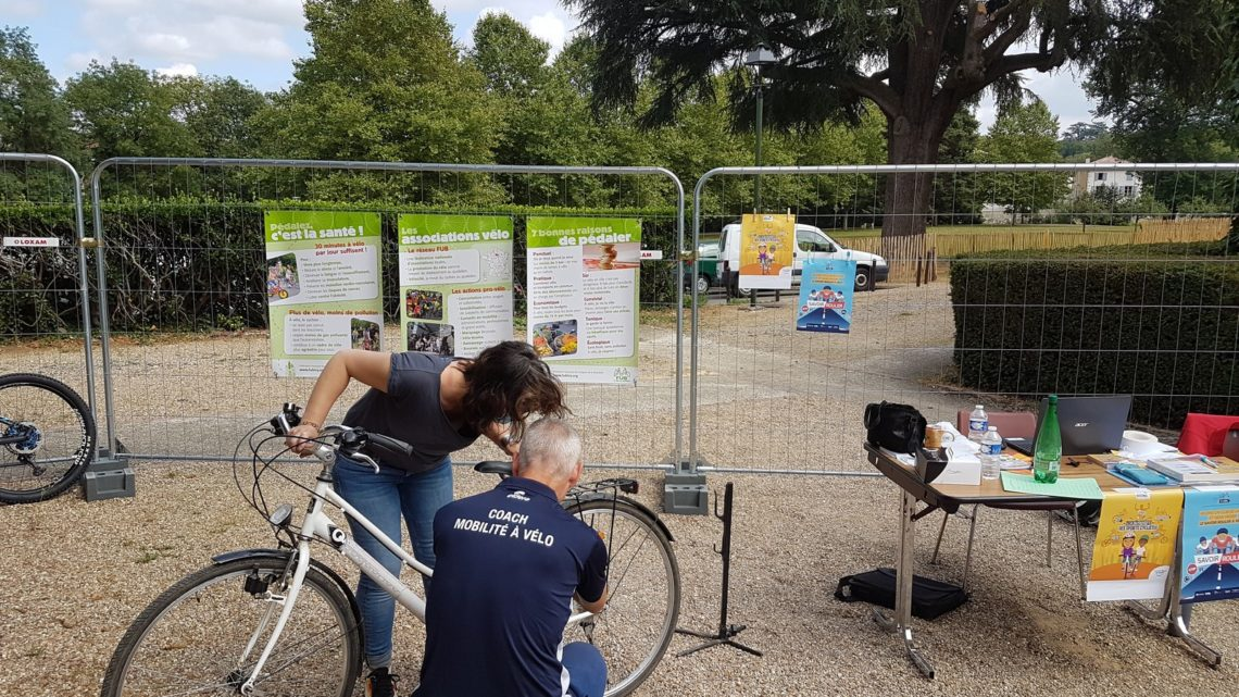 Mobilité à vélo UCC Vivonne