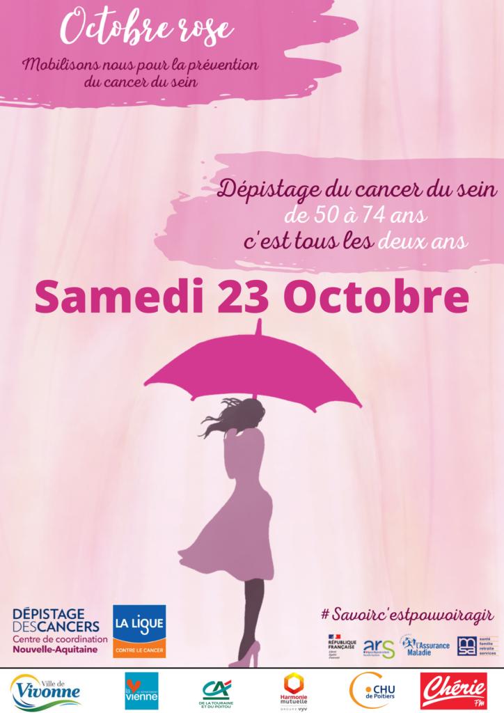 Octobre Rose 2021 UCC Vivonne programme